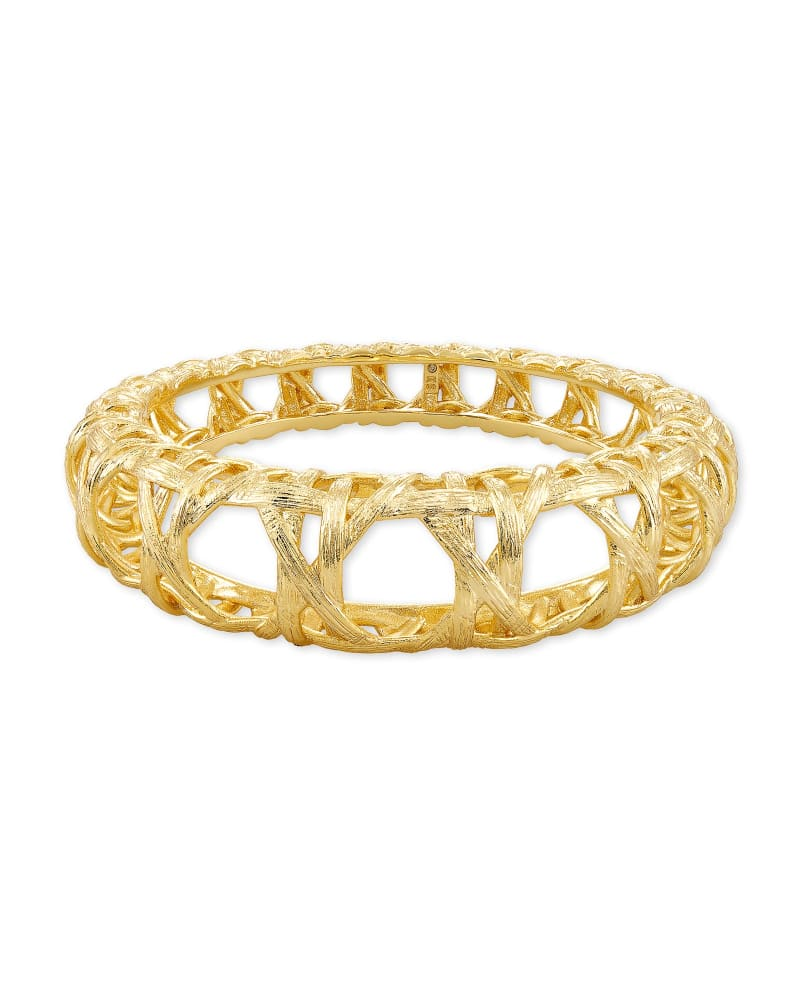 Kendra Scott Natalie Bangle Bracelet - Gold