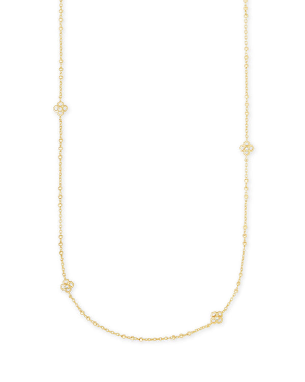 Kendra Scott Rue Long Strand Necklace - Gold