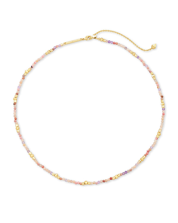 Kendra Scott Scarlet Choker Necklace - Gold/Pastel