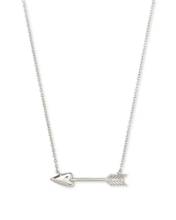 Kendra Scott Zoey Pendant Necklace - Silver