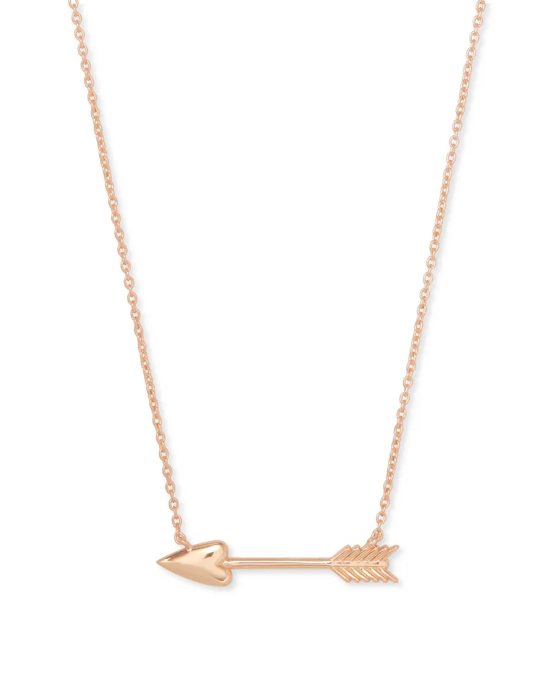Kendra Scott Zoey Pendant Necklace - Rose Gold
