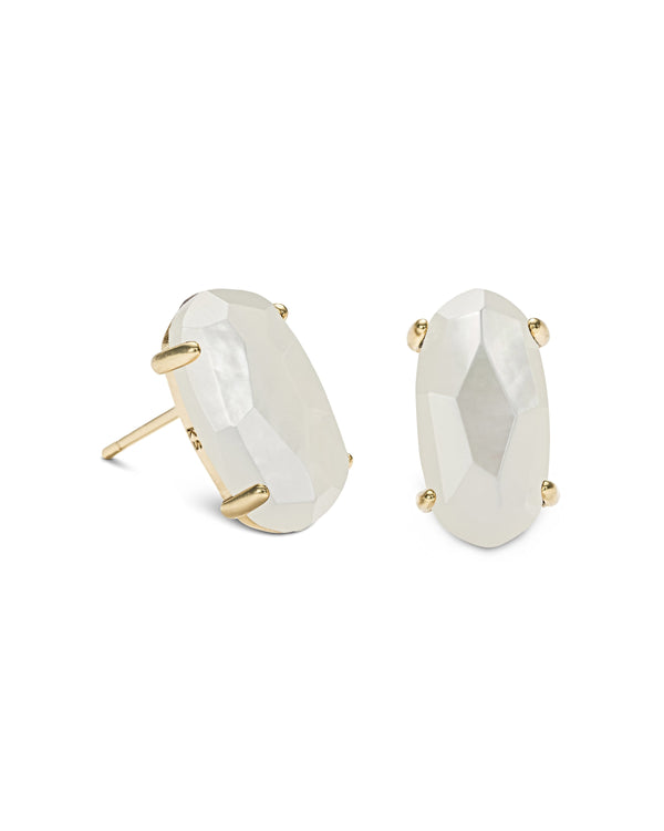 Kendra Scott Betty Earrings - Ivory Mother of Pearl