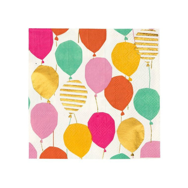 Luncheon Napkin - Luxe Gold Balloon