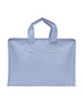 TRVL Design Overnight Tote - Sky Blue Gingham