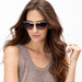 Brighton La Scala Sunglasses, Brown - A12484