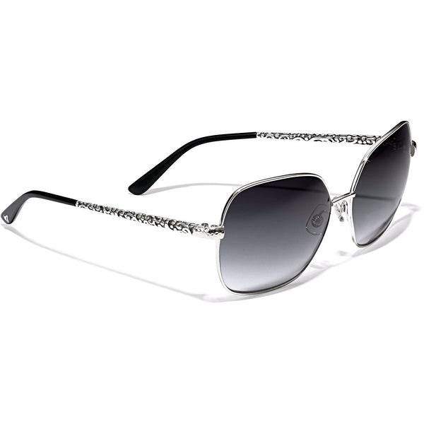 A12863, Brighton Astrid Sunglasses - Black