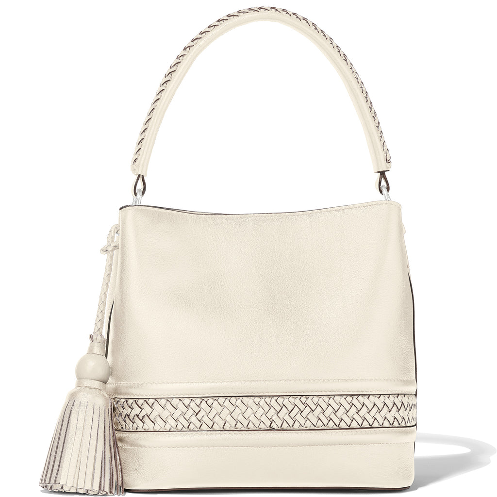 Brighton White Caldera Bucket Bag - H36342