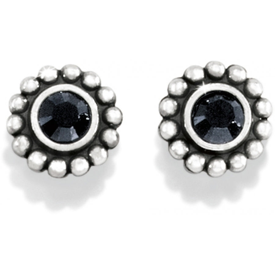 Brighton Twinkle Mini Post Earrings, Black - J20493