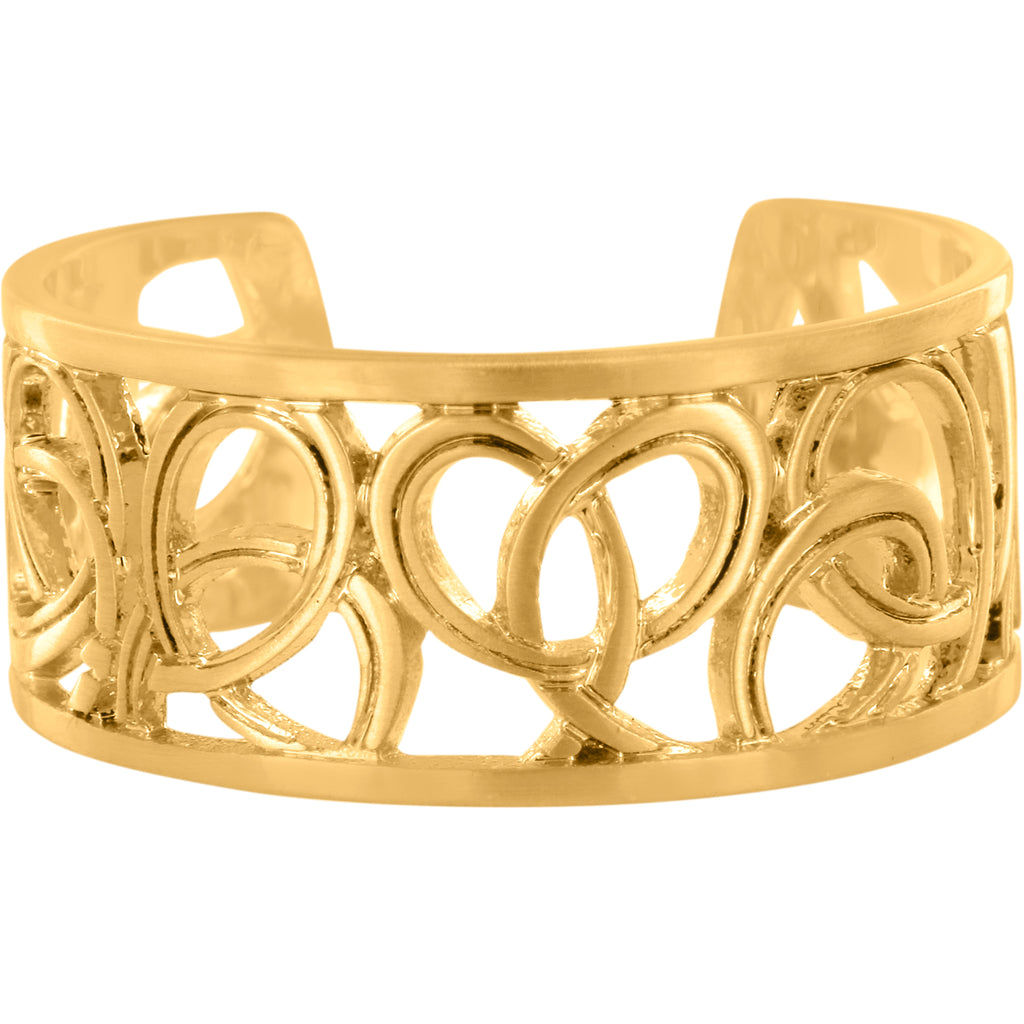 Brighton Christo Vienna Narrow Ring, Gold - J62525