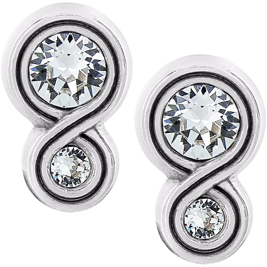 Brighton Infinity Sparkle Post Earrings - JA1222