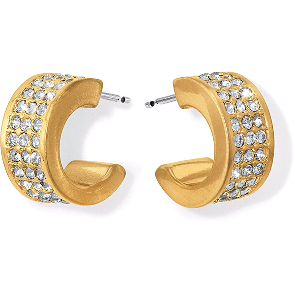 Brighton Meridian Zenith Small Hoops - Gold, JA2745