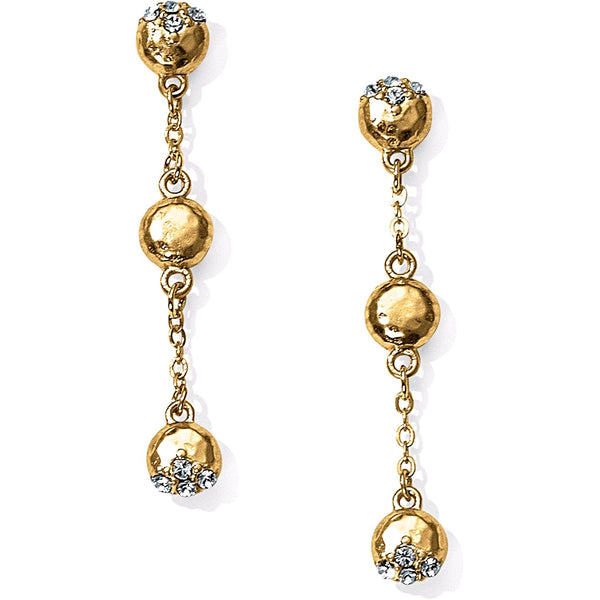 Brighton Bilbao Drop Gold Earrings - JA3804