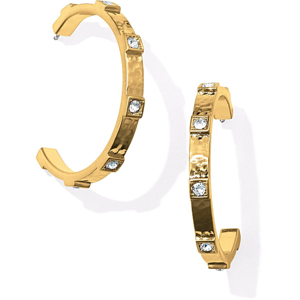 Brighton Meridian Hoops - Gold, JA3905