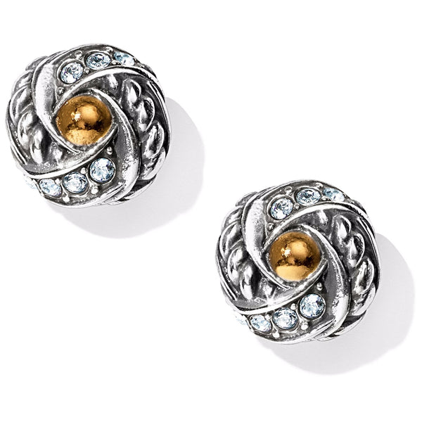 Brighton Neptune's Rings Knot Post Earrings - JA4183