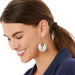 Brighton Mingle Disc Large French Wire Earrings - JA6250