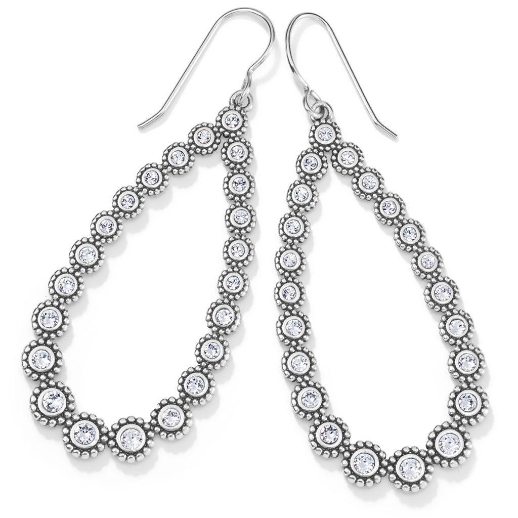 Brighton Twinkle Splendor Teardrop French Wire Earrings - JA7221