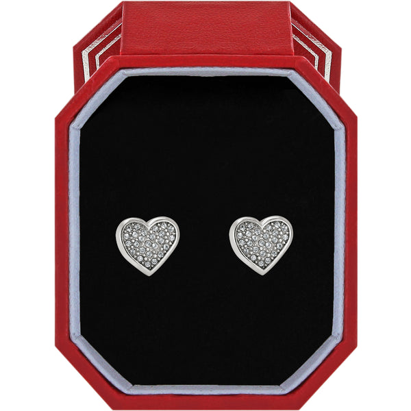 Brighton Eden Hearts Mini Post Earrings Gift Box - JD4761