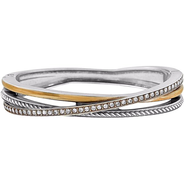Brighton Neptune's Rings Narrow Hinged Bangle - JF2081