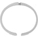 Brighton Meridian Zenith Silver Hinge Bangle - Silver, JF3701