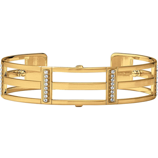 Brighton Slim Christo Cuff Rhone Gold - JF3875