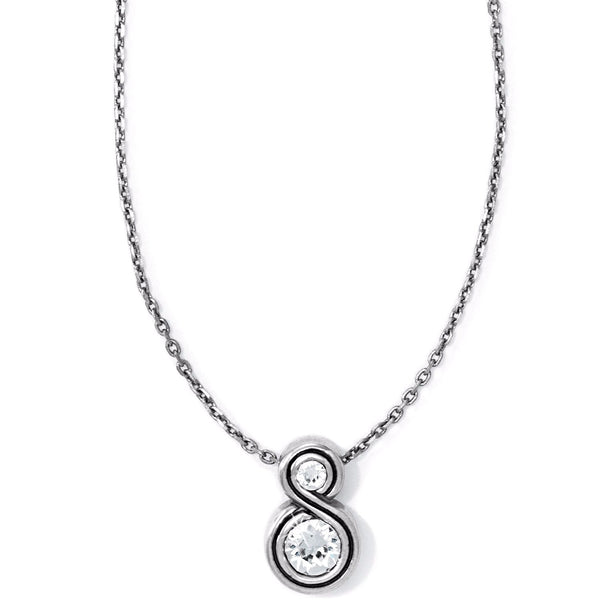 Brighton Infinity Sparkle Petite Necklace - JL6521