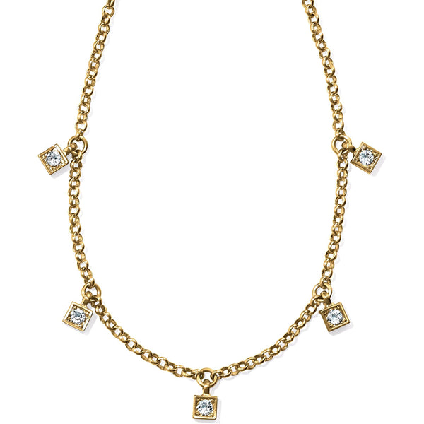 Brighton Meridian Zenith Station Necklace - Gold, JL8325