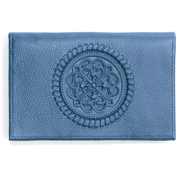 Brighton Canyon Blue Ferrara Folio Wallet - T3462B