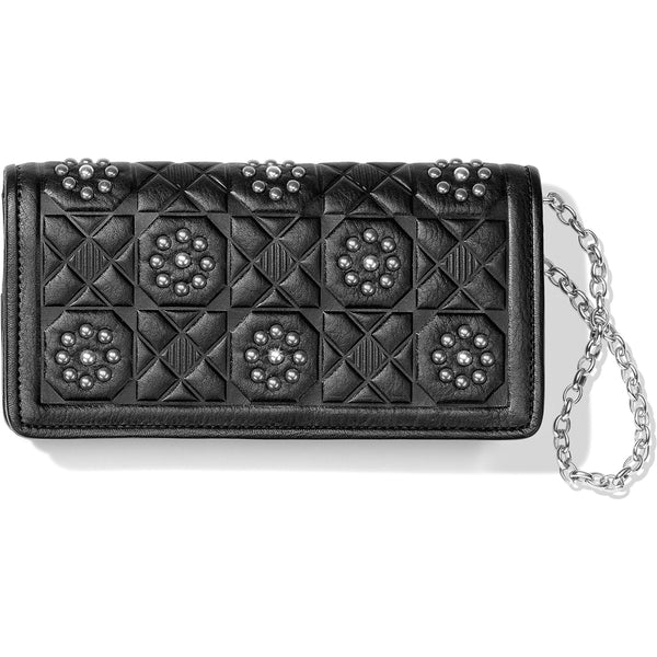 Rockmore Embossed Large Wallet, Black - T35333