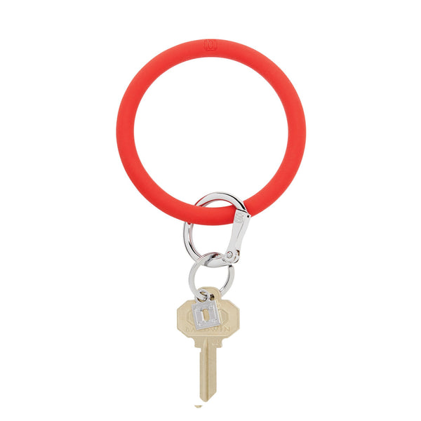 Big O Key Ring - Cherry On Top Silicone