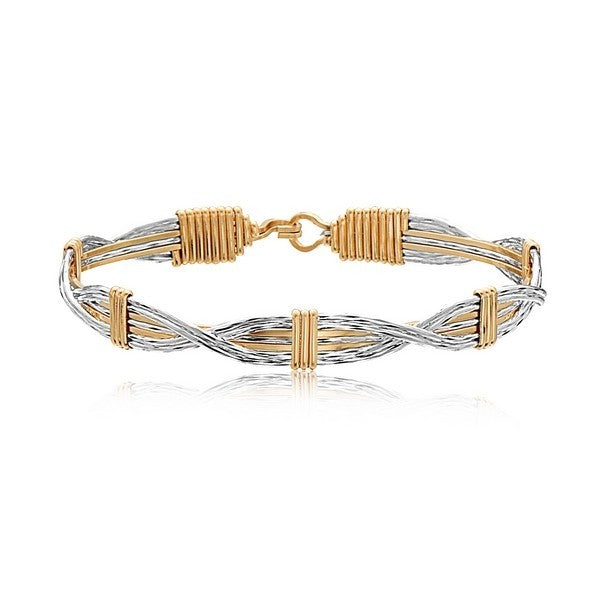 Ronaldo Sands Of Time Bracelet - Silver/Gold