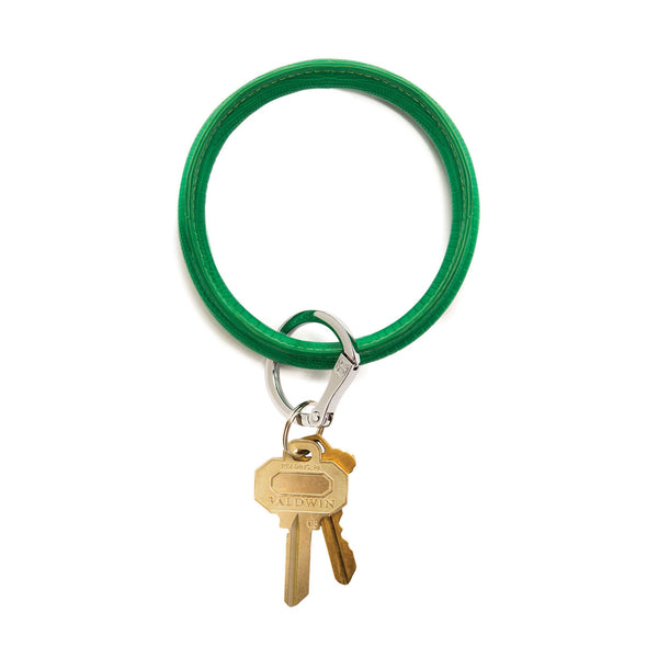 Big O Key Ring - Shamrock Lizard