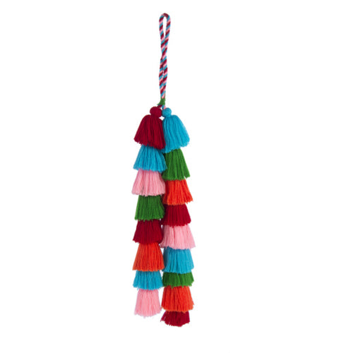 Handbag Tassel - Bright Multi