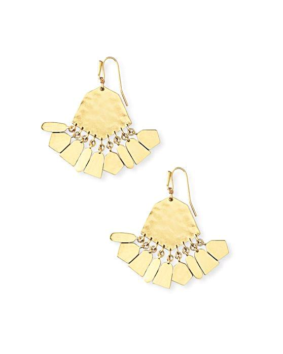 Kendra Scott Liz Earrings - Gold