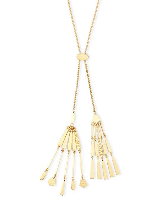 Kendra Scott Lainey Adjustable Necklace - Gold