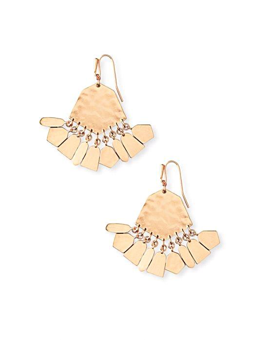 Kendra Scott Liz Earrings - Rose Gold