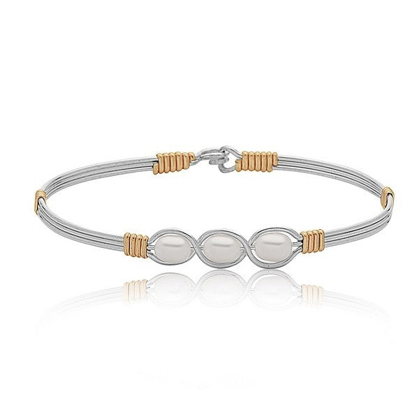 Ronaldo Waverly Bracelet - Silver/Gold