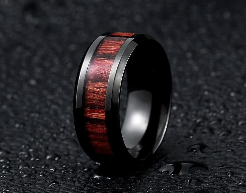 WoodChuckChucked Rings Ironwood Rings
