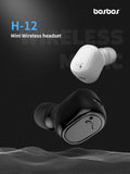 H-12 Wireless Headset BLACK - Wholesale