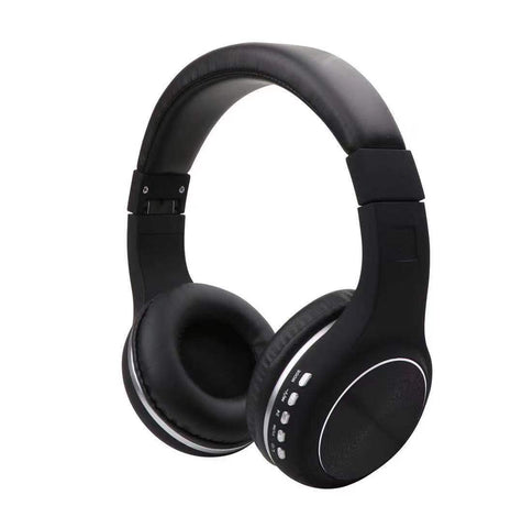 H-17 Wireless Headset Black - Wholesale