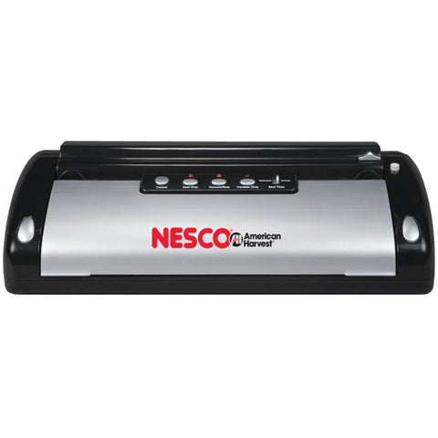 Nesco Vacuum Sealer (130-watt; Black & Silver)