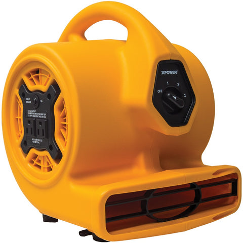 Xpower P-130a Compact Air Mover With Daisy Chain