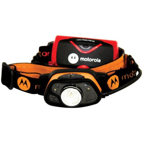 Motorola 250-lumen Headlamp With Motion And Light Sensing Technology