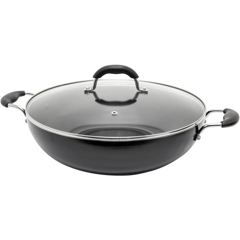 Starfrit Jumbo 13.5-inch Wok With Lid