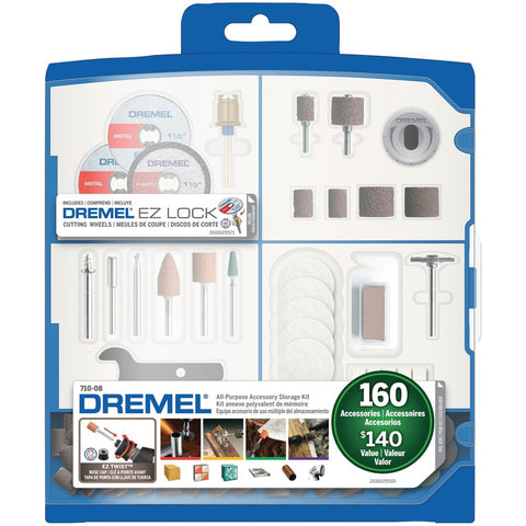 Dremel 710-08 160-piece All-purpose Accessory Kit