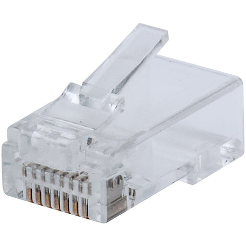 Intellinet Network Solutions Fastcrimp Cat-6 Rj45 Modular Plugs (100-pack)