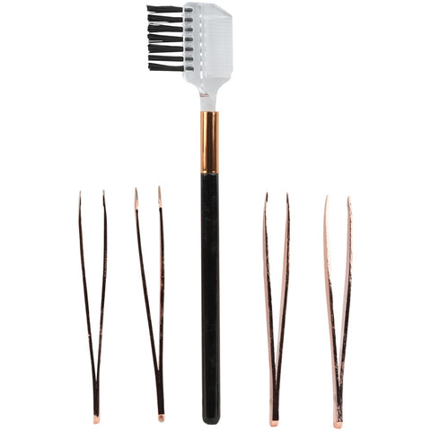Vivitar 5-piece Mini Eyebrow Kit (metallic)