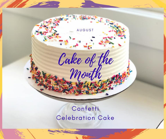 August Cake of the Month - Standard Cake