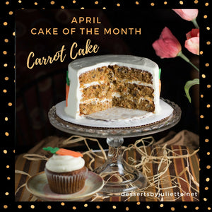 April Cake of the Month - Carrot Cake