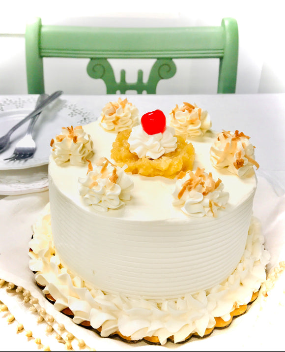 June Cake of the Month - Piña Colada