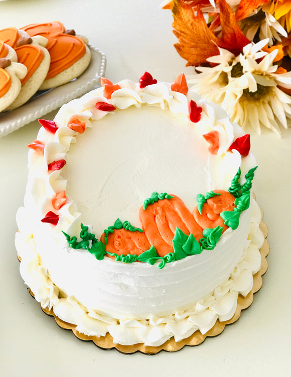 PUMPKIN PATCH DELIGHT - September Cake of the Month